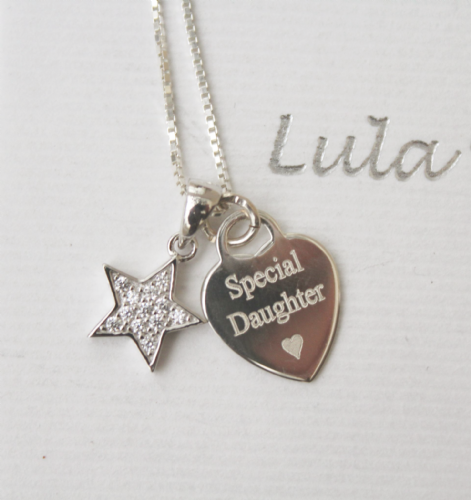Jewellery gift for a daughter - FREE ENGRAVING